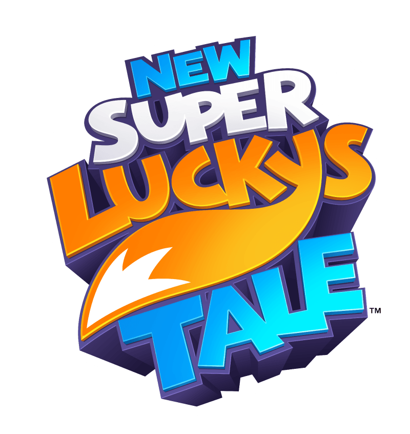 new super lucky's tale logo